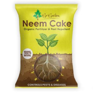 Neem Cake Powder for Plants and Home Garden 100% Organic Fertilizer and Pest Repellent